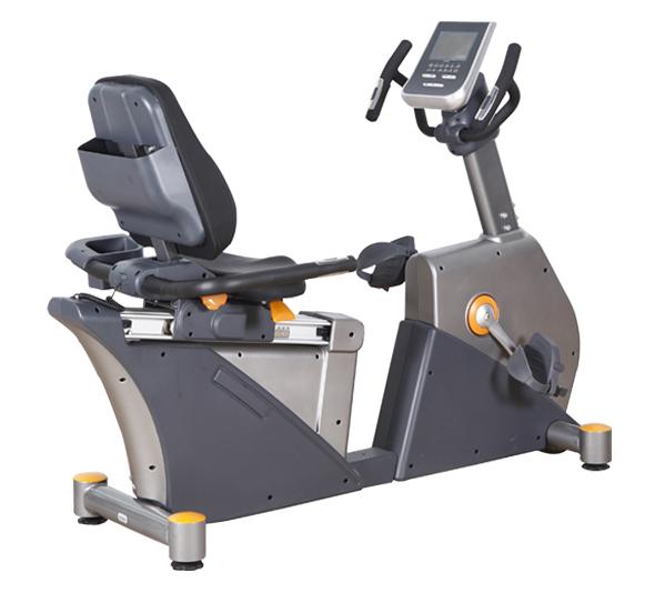 BCE102健身车 商用卧式健身车批发