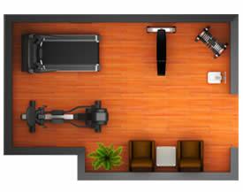 经济型家庭健身器材配置解决方案