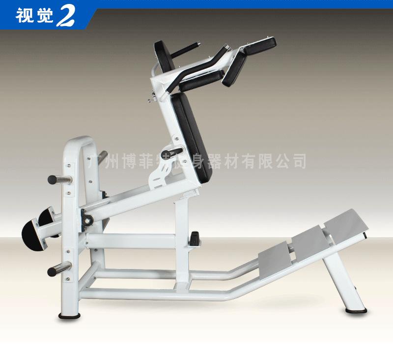 广州健身房_BFT1053 正反向哈克深蹲后蹲训练器_广州博菲特健身器材厂家