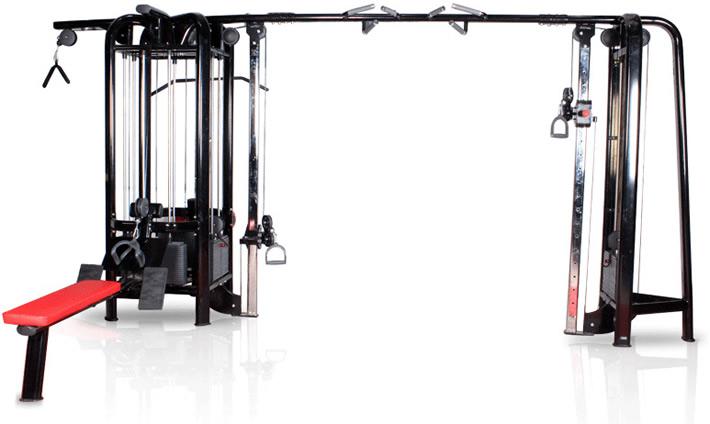 五站位多功能健身器材