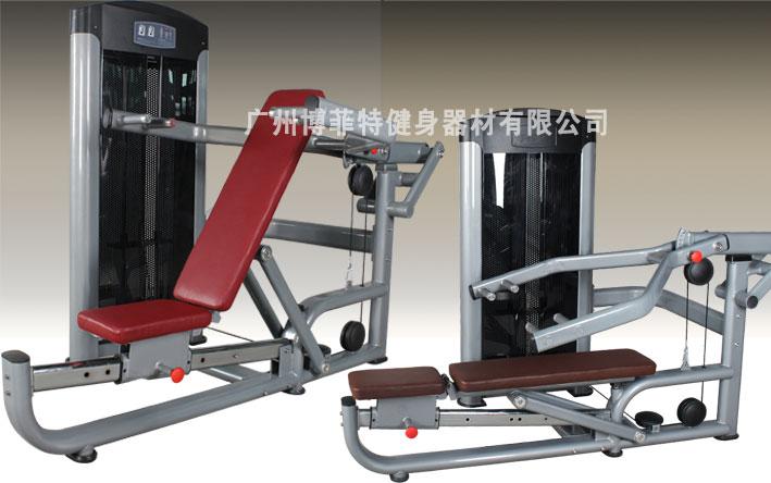 平板卧推和上斜卧推训练器