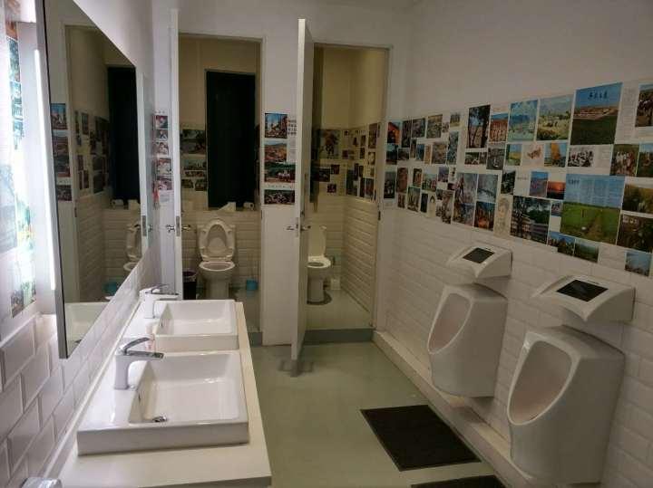 健身工作室洗手间