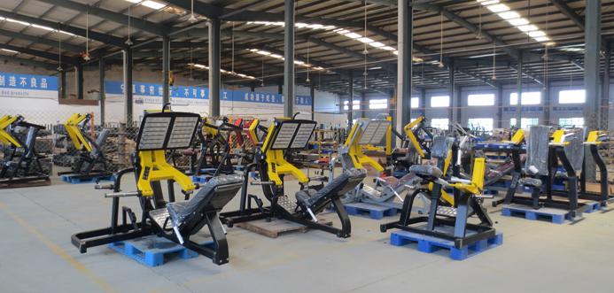博菲特健身器材加工区